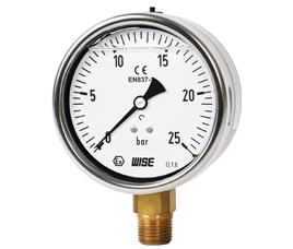 Đồng hồ đo áp suất Wise P259 - Wise Vietnam